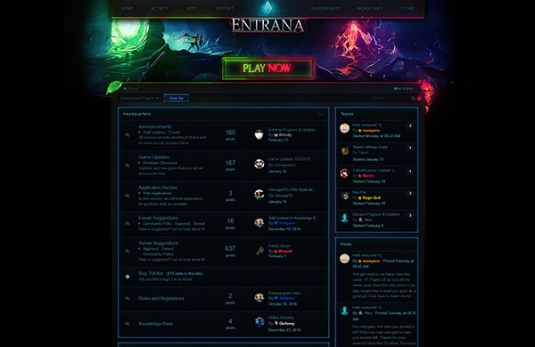 Entrana IPS Theme